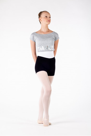 Crop top Bloch Romy FT5020 gris Edition limitée