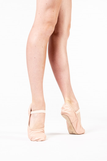 Bloch Giselle leather full sole ballet shoes