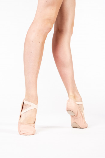 Bloch Odette leather split sole ballet shoes