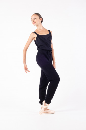 Warm-up overall Repetto knit D0695