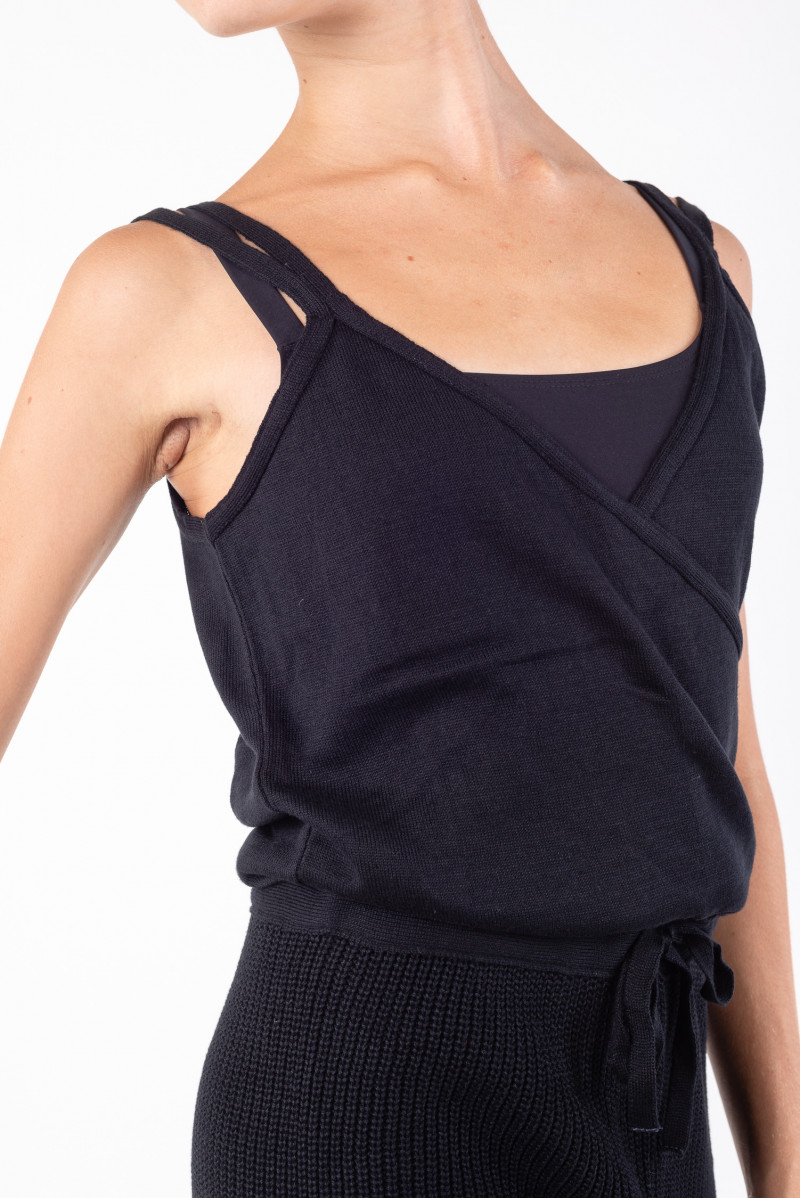 Combinaison d'échauffement Repetto tricot D0695