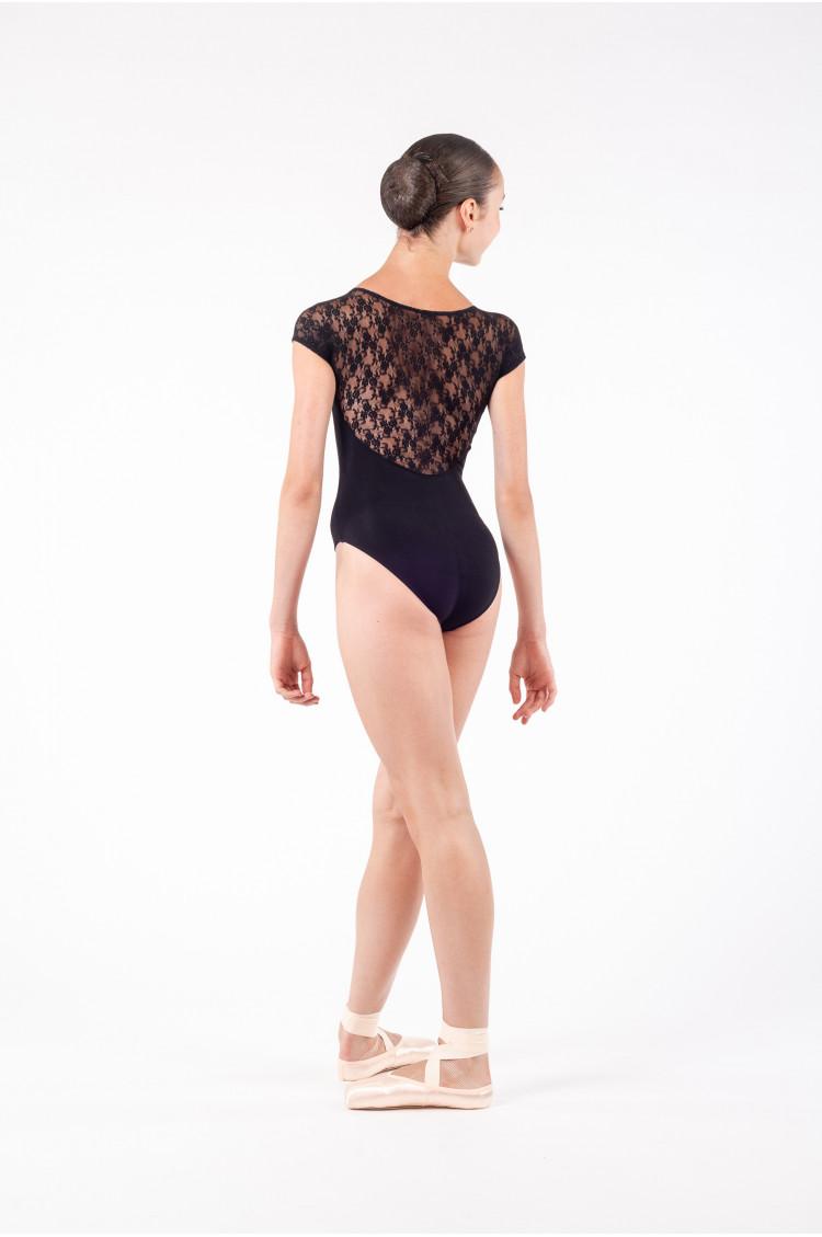 Intermezzo - black Lace Leotard for women 31125 - Mademoiselle Danse 675a07f68