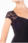 Intermezzo black Lace Leotard 31125