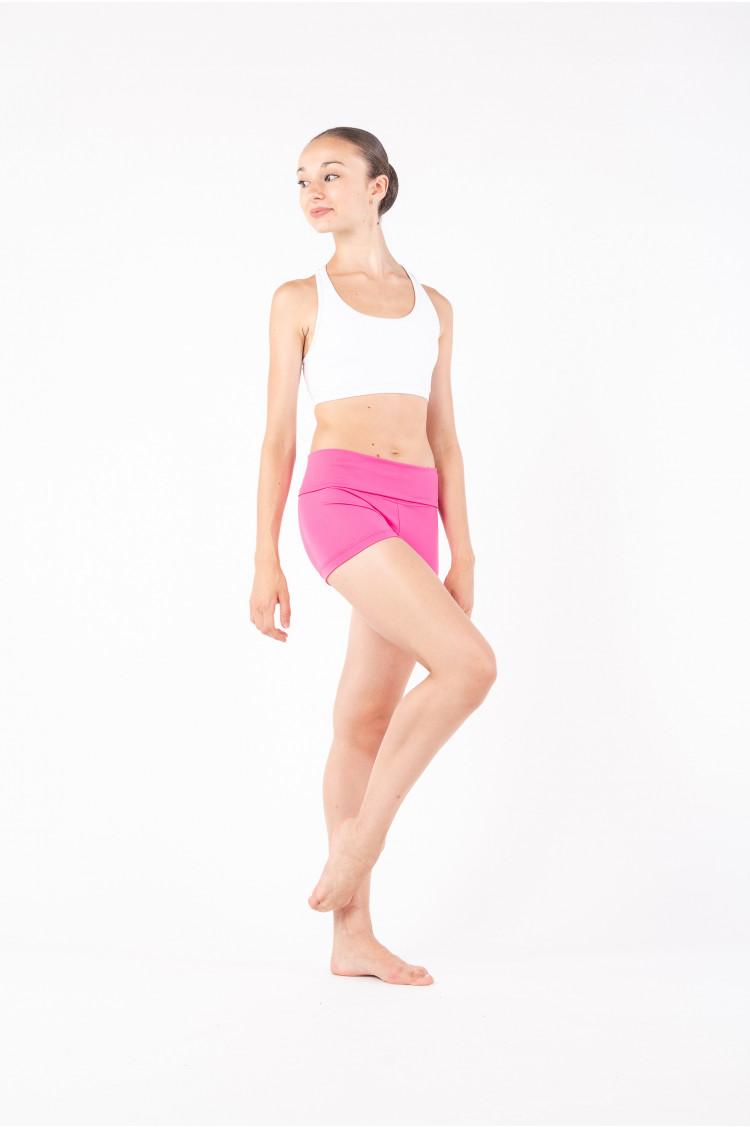 Short rabat Capezio hot pink femme