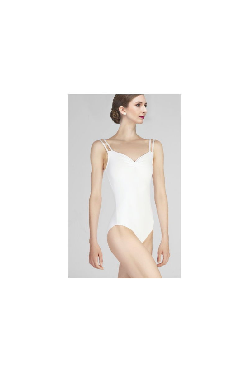 Justaucorps Wear Moi Mauve white