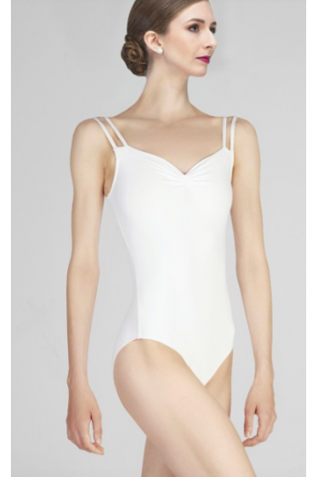 Leotard Wear Moi Mauve white
