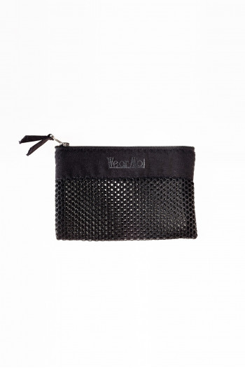 Small pouch zipped Wear Moi black