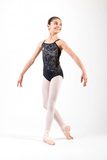 Ballet Rosa Grace crystal leotard
