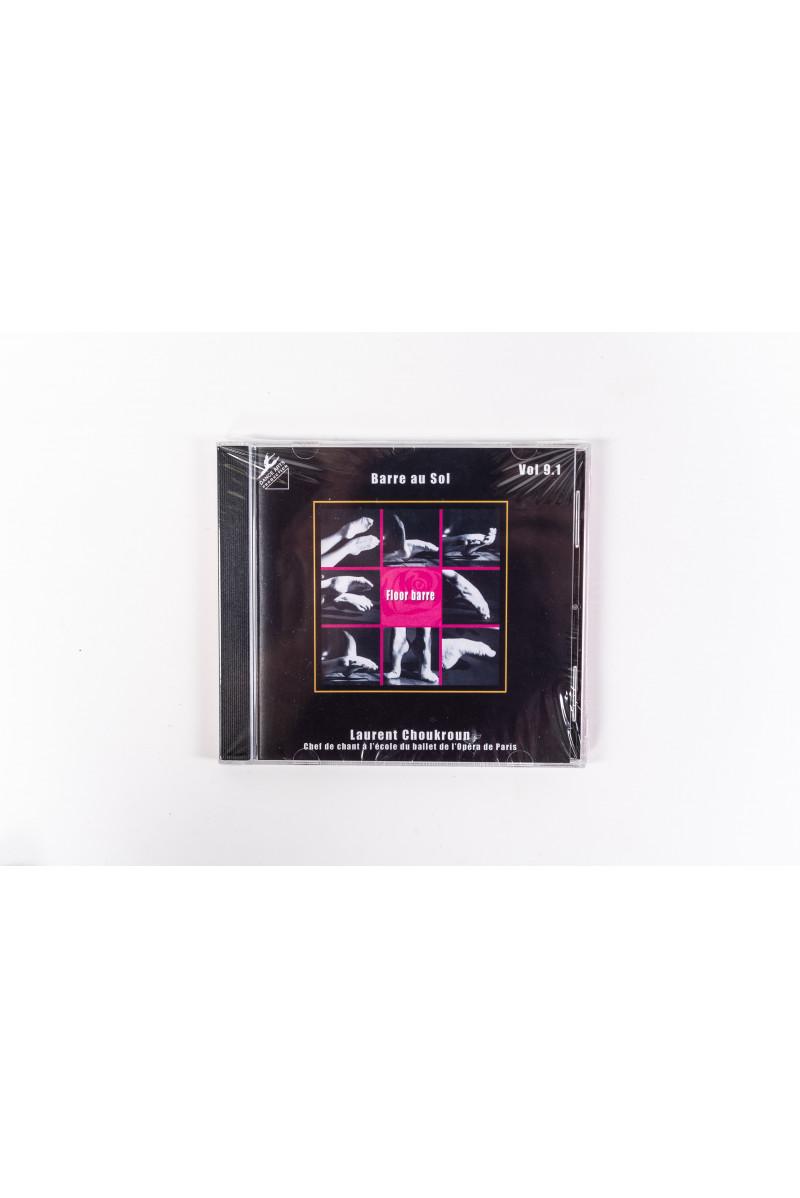 CD volume 9 Laurent Choukroun barre au sol
