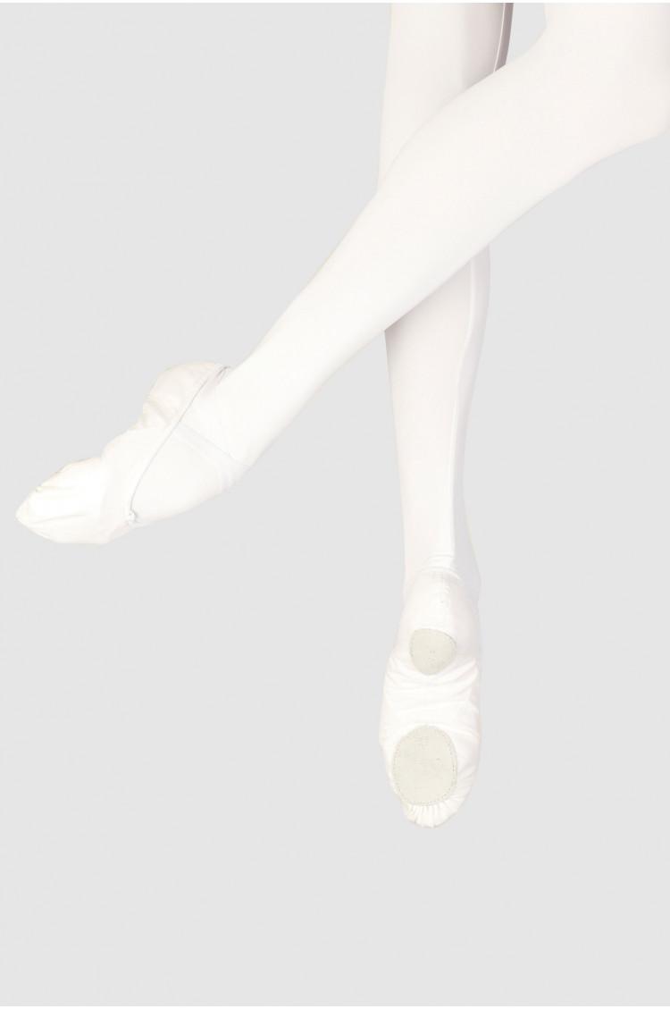 Demi-pointes Wear Moi toiles blanche