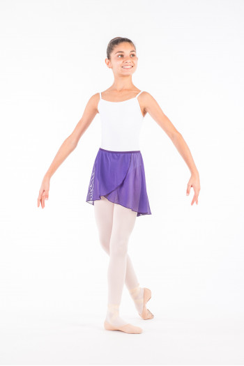 Ballet Rosa Therese prunus child skirt
