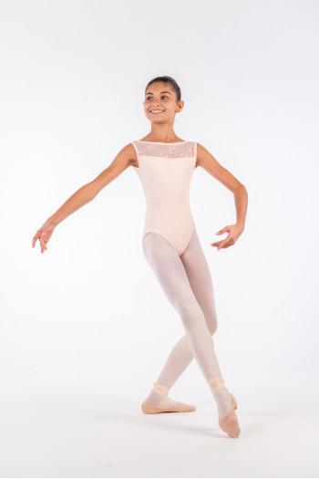 Justaucorps Ballet Rosa Camila poudré