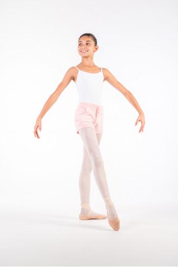 Warm up short Bloch child pink Limited Editionimitée