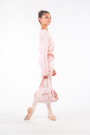 Repetto 'Small Glide' pale pink duffle bag