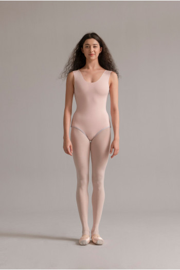 Justaucorps réverseible SMK lilac / nude