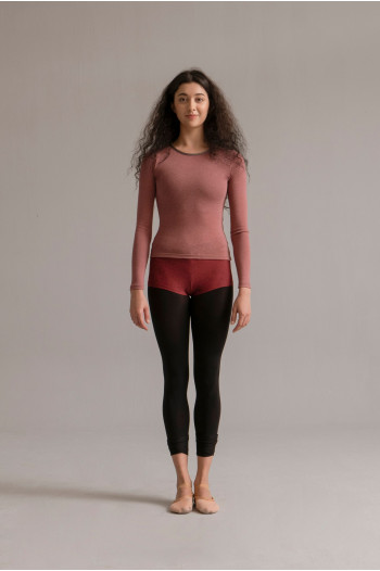 Tee Shirt SMK manches longues dusty pink