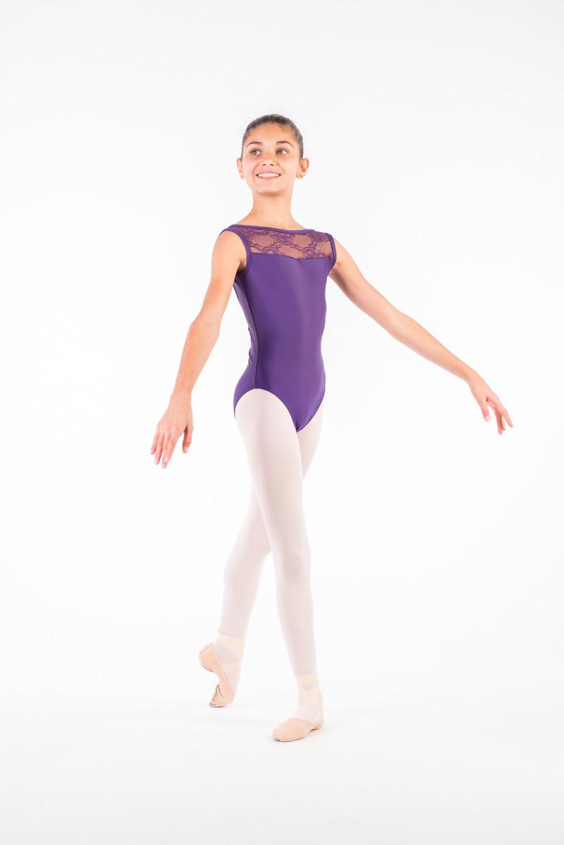 Justaucorps Ballet Rosa Camila poudré enfant