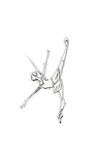 Pendentif danseuse Mikelart Penché