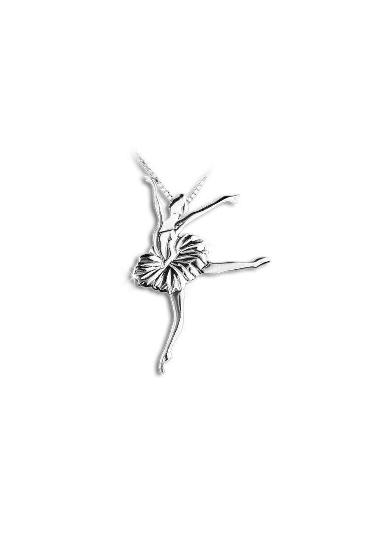 Pendentif danseuse Mikelart Lac des Cygnes