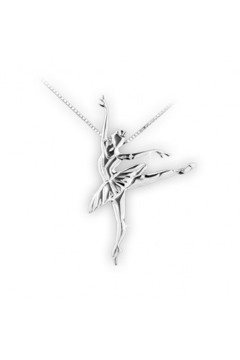 Mikelart ballerina pendant
