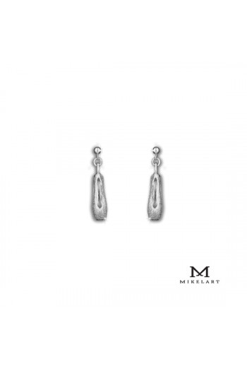 Boucles d'oreilles chaussons Mikelart or