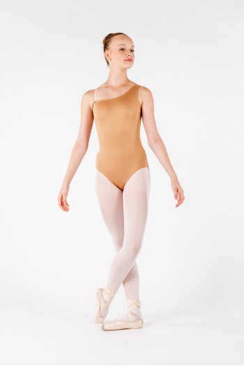 Leotard flesh asymmetric