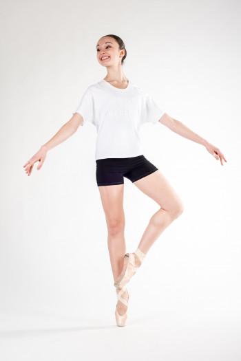 T-Shirt Repetto coton strech blanc S0438