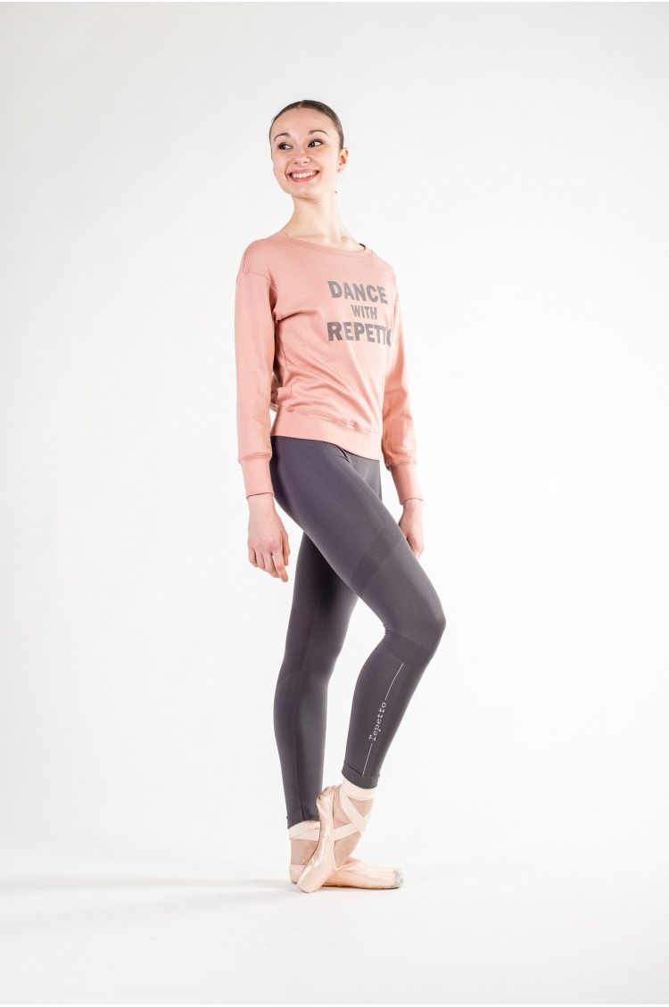 6b43a6dbcf Sweat Repetto S0442 rose - Mademoiselle Danse