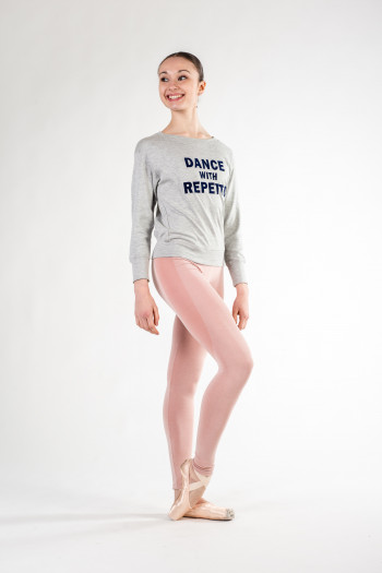 Sweat Repetto S0442 gris chiné