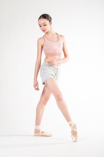 Short Repetto danse W0621C gris chiné