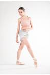 Short Repetto danse W0621C gris chiné