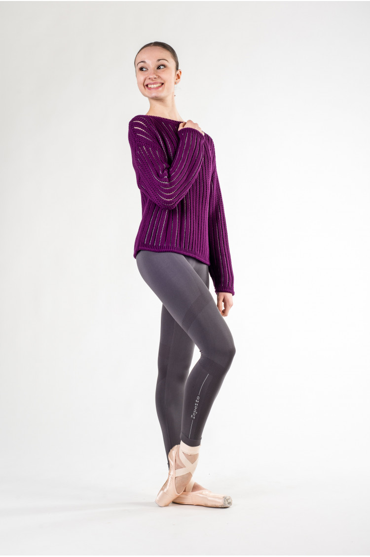 Knit Warmer Top Repetto W0627 orchidée