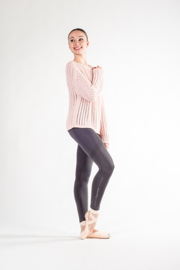 Knit Warmer Top Repetto W0627 poudré