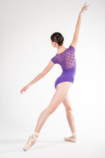 Intermezzo violet Lace Leotard 31125