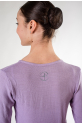Wear Moi Carmen lilac women wrap over top