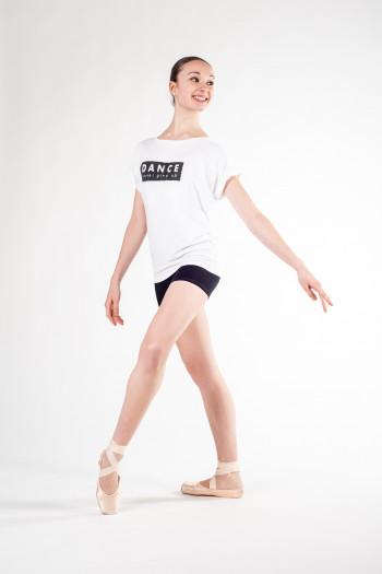 Tee-shirt Temps Danse Limpid Never blanc