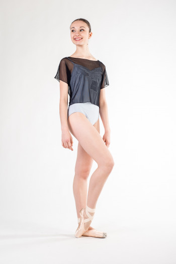 Crop top en tulle Temps Danse Delta