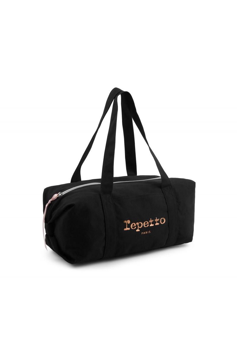 Repetto 'Glide' black duffle bag