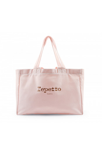 Sac Repetto fille cabas B0244T rose tendresse