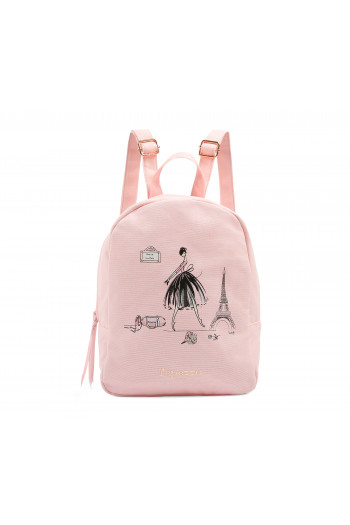 Sac à dos Repetto fille rose tendresse