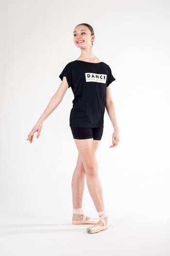 Tee-shirt Temps Danse Limpid Never noir Edition Limitée