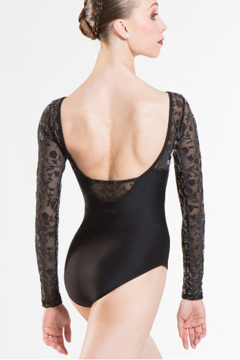 Wear Moi Sibelle women long sleeves leotard