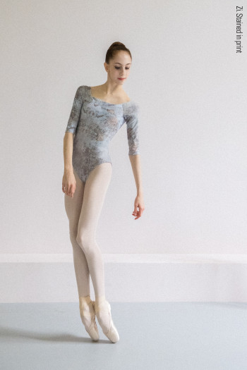 2 Sleeves leotard Delicate Dirt