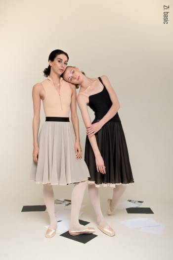 A4 two-sided rehearsal skirt