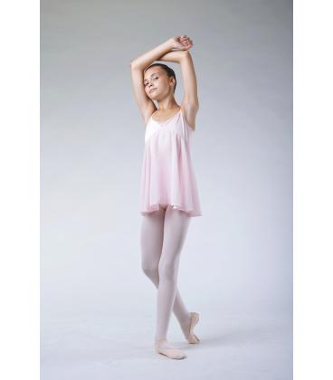 Tunique de danse fille Bloch rose