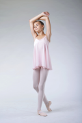 Tunique de danse fille Bloch rose