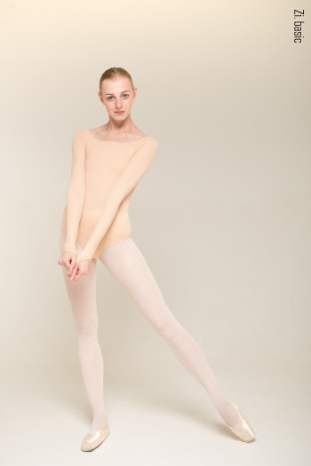 4 Sleeves leotard (nude)