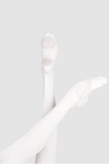 Demi-pointes Wear Moi Pluton cuir white
