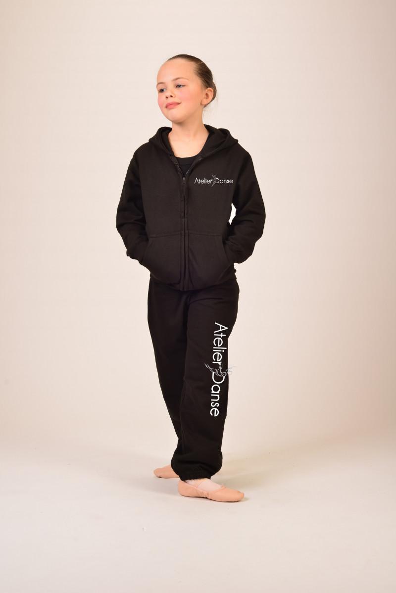 Bas de jogging enfant flocage jambe entière Atelier Danse