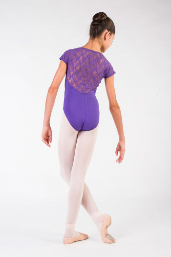 Intermezzo 31125 child violet lace leotard